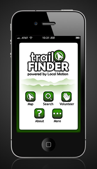 Trail Finder App preview