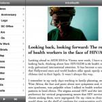IntraHealth iPad app