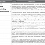 RSS feeds with sharing