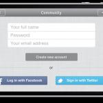 "iPhone final beta custom log in for ACS posts ""community"""