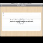iPad final beta cards scrollableview
