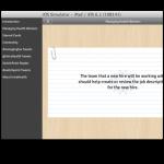iPad final beta menu