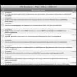 iPad final beta Twitter view